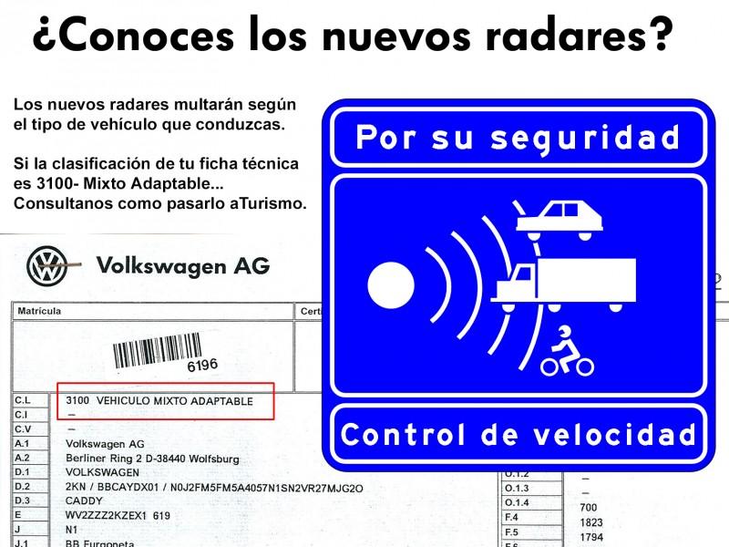 Evita grandes multas de velocidad cambiando la clasificación de tu vehículo