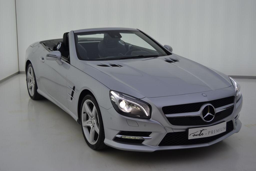 Mercedes Benz Clase SL segunda mano Zaragoza