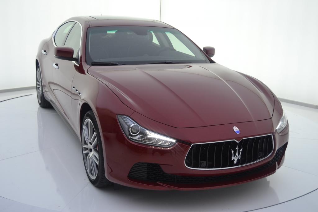 Maserati Ghibli segunda mano Zaragoza