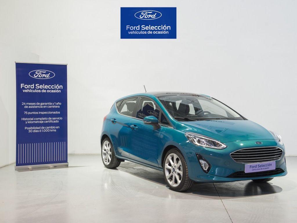 Ford Fiesta NUEVO FIESTA 5 PUERTAS TITANIUM 1.0 EcoBoost S/S 73,50KW (100CV) Euro6 segunda mano Madrid