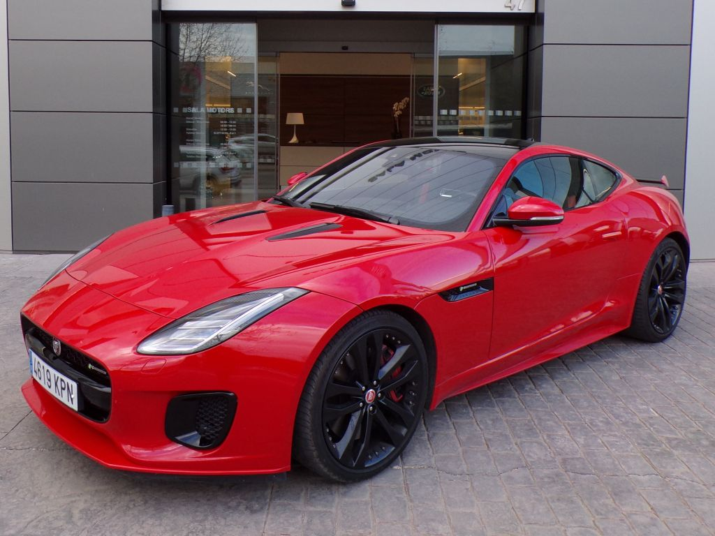 Jaguar F-Type R-Dynamic V6 3.0 279kW S/C Coupé Aut AWD segunda mano Madrid