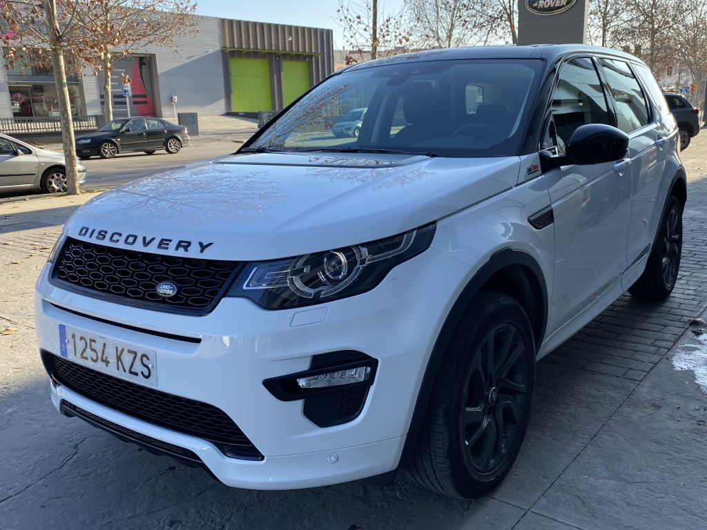 Land Rover Discovery Sport 2.0L TD4 110kW (150CV) 4x4 Pure segunda mano Madrid
