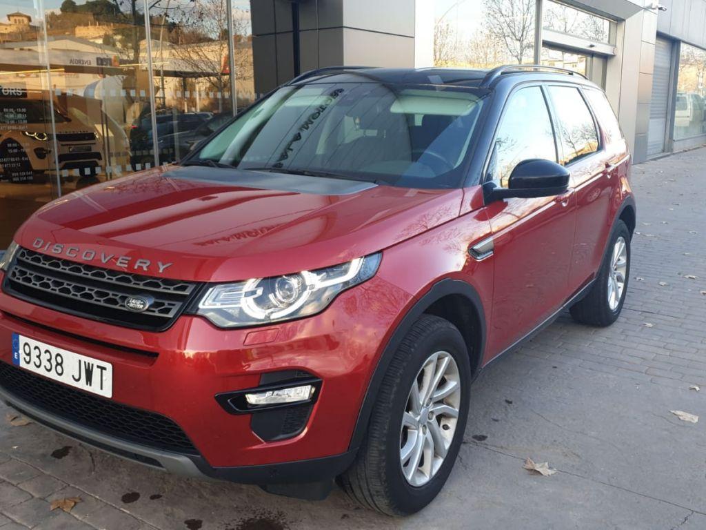 Land Rover Discovery Sport 2.0L TD4 110kW (150CV) 4x4 SE segunda mano Madrid