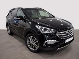 Coches segunda mano - Hyundai Santa Fe 2.2 CRDi Style Safe Auto 4x4 7S en Huesca