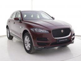 Coches segunda mano - Jaguar F-Pace 2.0L i4D AWD Automático Prestige en Zaragoza