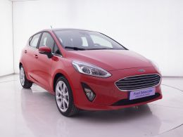Coches segunda mano - Ford Fiesta 1.0 EcoBoost 100cv Titanium 5p en Zaragoza