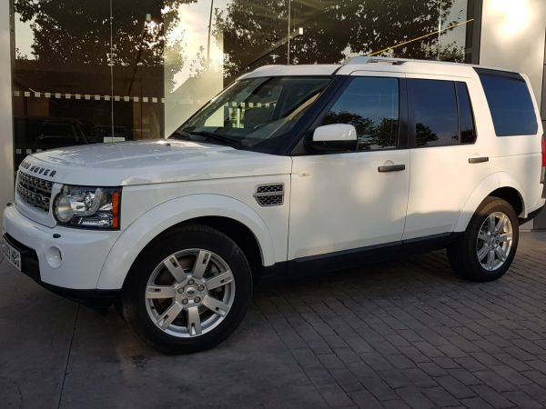 Land Rover Discovery 4 segunda mano Barcelona