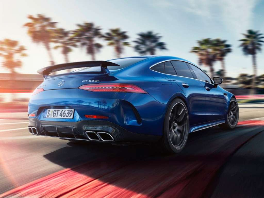 Mercedes-Benz GT-CLASSE MERCEDES-AMG GT 63 4MATIC + 4-DOORS-COUPÉ