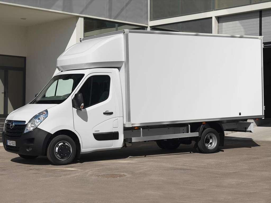 Opel Movano Plataforma