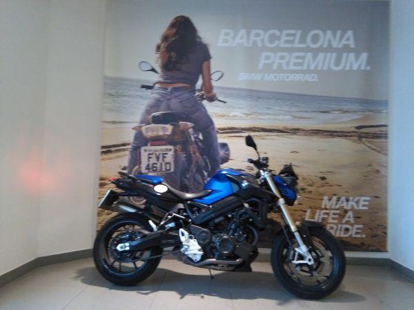 BMW F 800 R segunda mano Barcelona