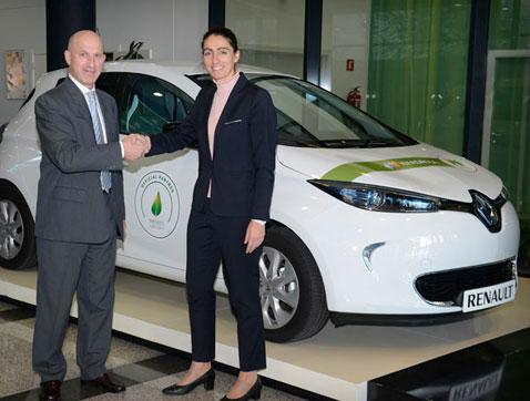 Iberdrola y Renault firman un acuerdo para impulsar la  movilidad eléctrica en España