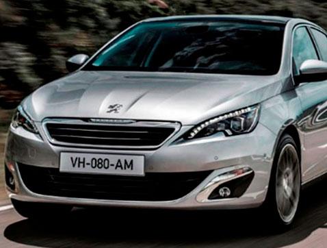 El 308 protagonista de la campaña de Navidad de Peugeot