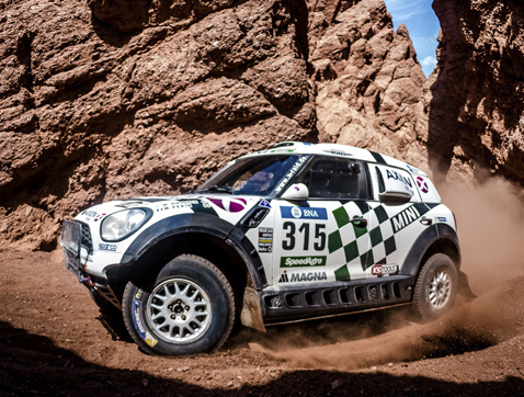 Dakar 2016: MINI ALL4 Racing se coloca en segunda, tercera y quinta posición al final de la Etapa 9