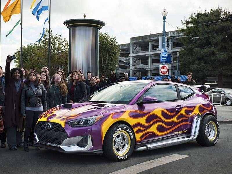 Tres modelos de Hyundai celebran el debut en Hollywood