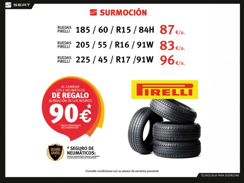 Campaña Neumáticos Pirelli