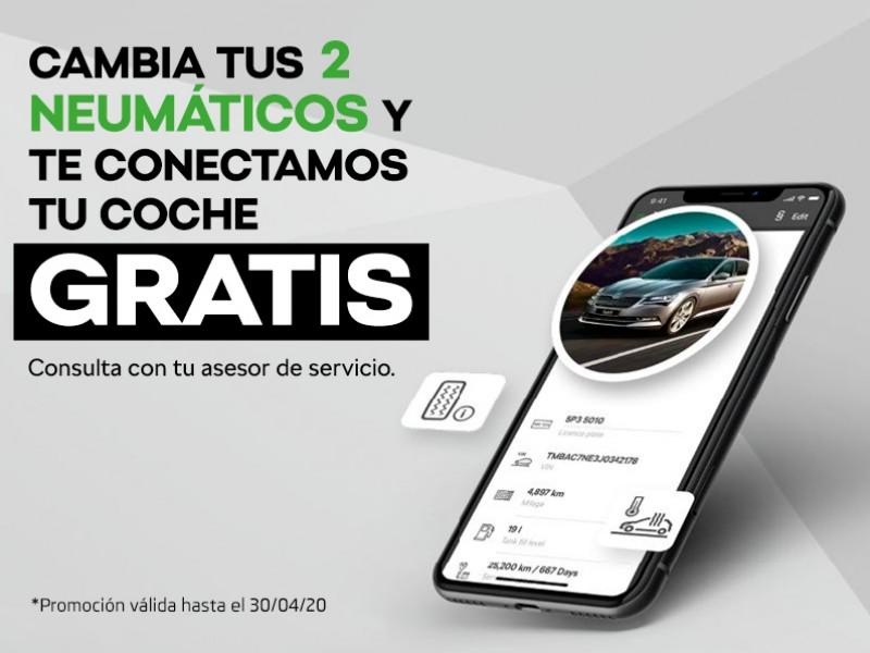 PROMOCIÓN CAMBIA TUS 2 NEUMÁTICOS Y TE CONECTAMOS TU COCHE GRATIS