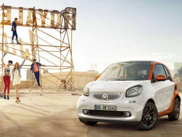 Smart Fortwo 60kW(81CV) electric drive coupe nuevo Málaga