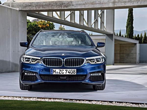 BMW Serie 5 520dA Touring nuevo Madrid