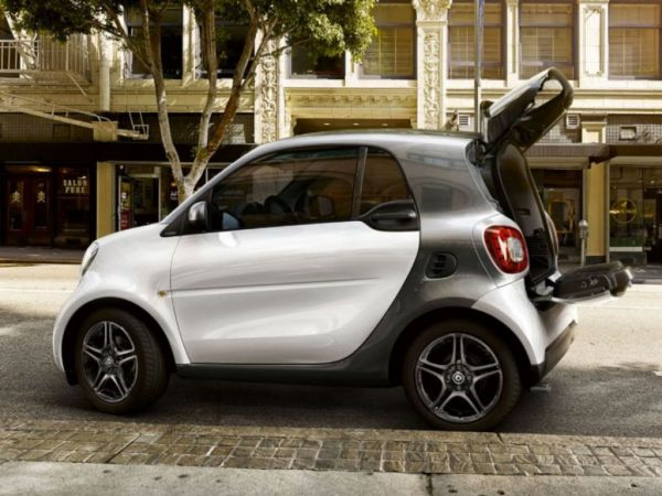 Smart Fortwo EQ Ushuaia Limited Edition negro nuevo Málaga