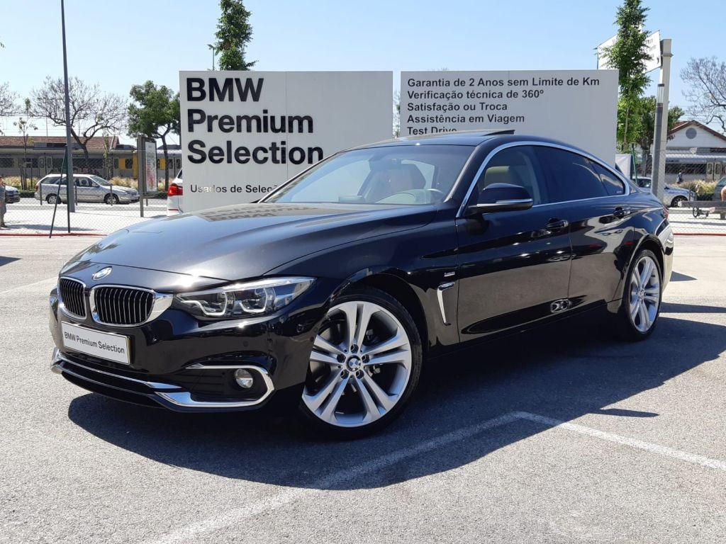 BMW Serie 4 420d Gran Coupe Line Luxury usada Lisboa