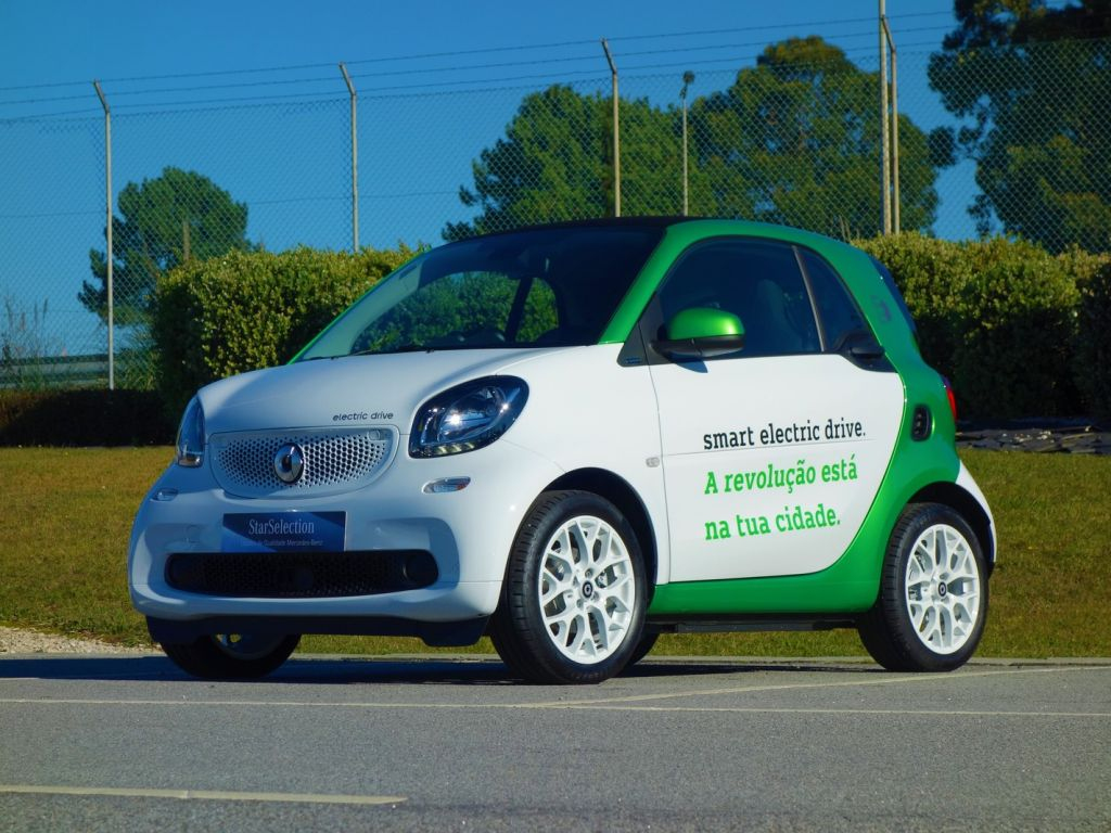 Smart Fortwo electric drive usada Porto