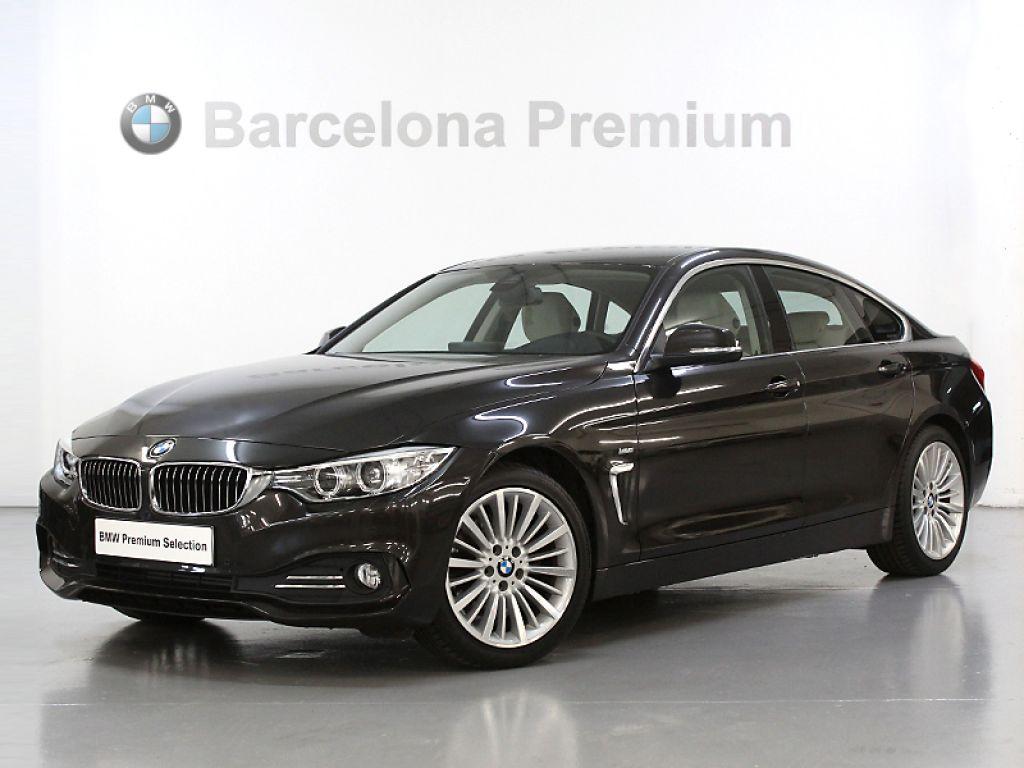 BMW Serie 4 420d Gran Coupe Linea Luxury segunda mano Barcelona