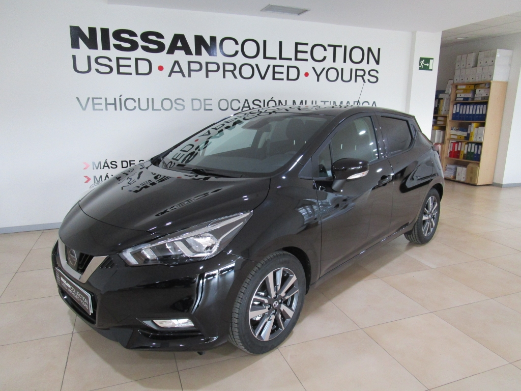 Nissan Micra 1.5dCi ACENTA + NAVEGADOR segunda mano Madrid