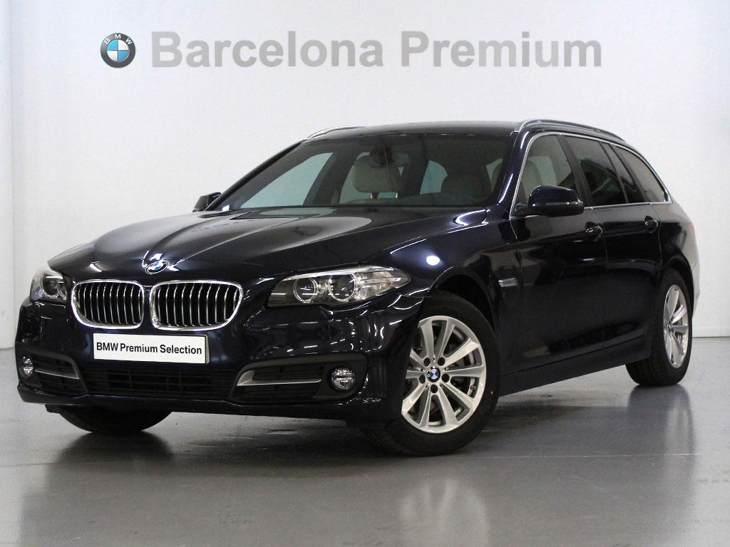 BMW Serie 5 520d Touring segunda mano Barcelona