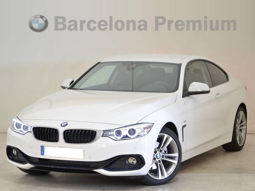 BMW Serie 4 420d Coupe Acabado Sport segunda mano Barcelona