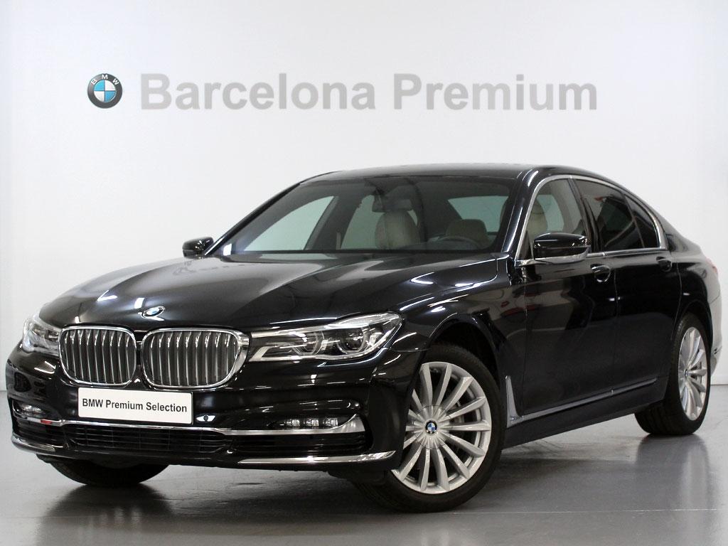 BMW Serie 7 730dA segunda mano Barcelona