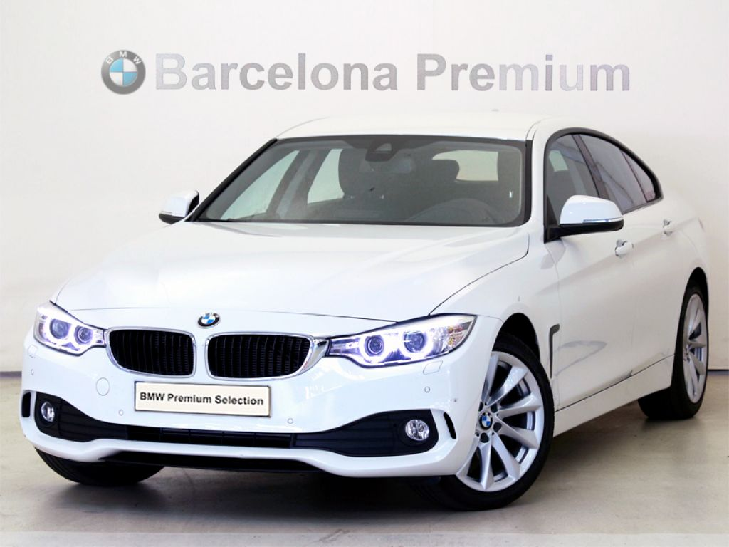 BMW Serie 4 420d Gran Coupe segunda mano Barcelona