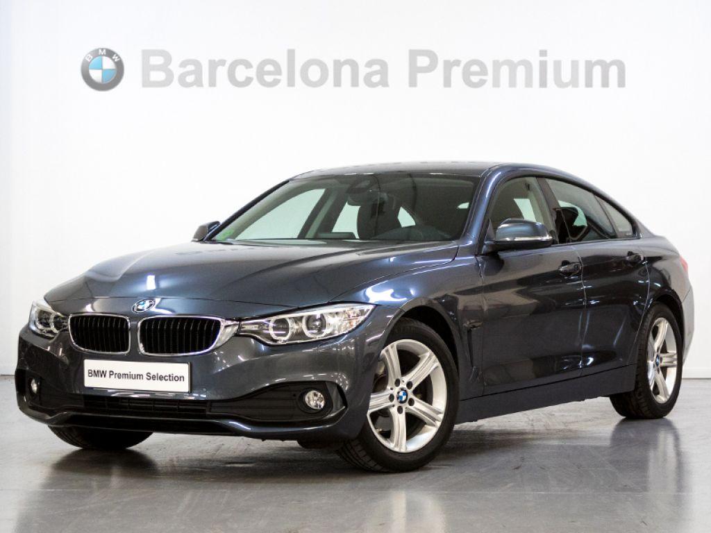 BMW Serie 4 418d Gran Coupe acabado Advantage  segunda mano Barcelona