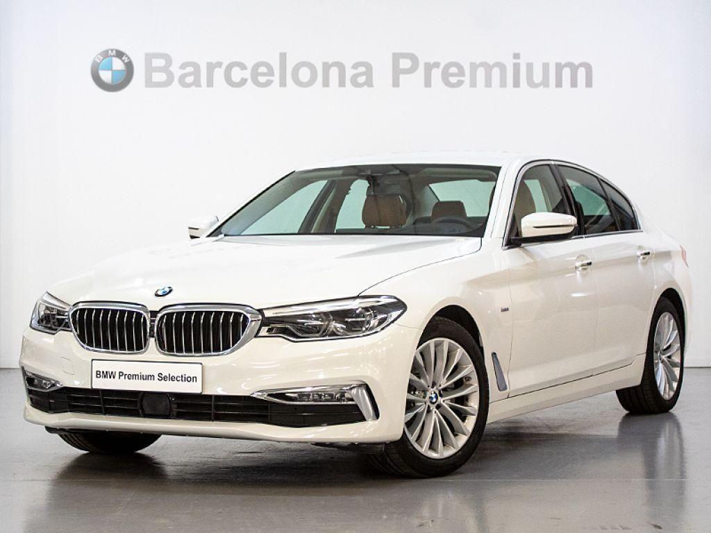 BMW Serie 5 520d Efficient Dynamics segunda mano Barcelona
