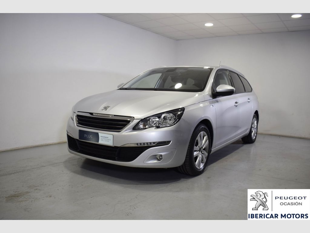 peugeot 308 sw style 1 6 bluehdi 88kw 120cv eat6 2017 19150 segunda mano 5930. Black Bedroom Furniture Sets. Home Design Ideas