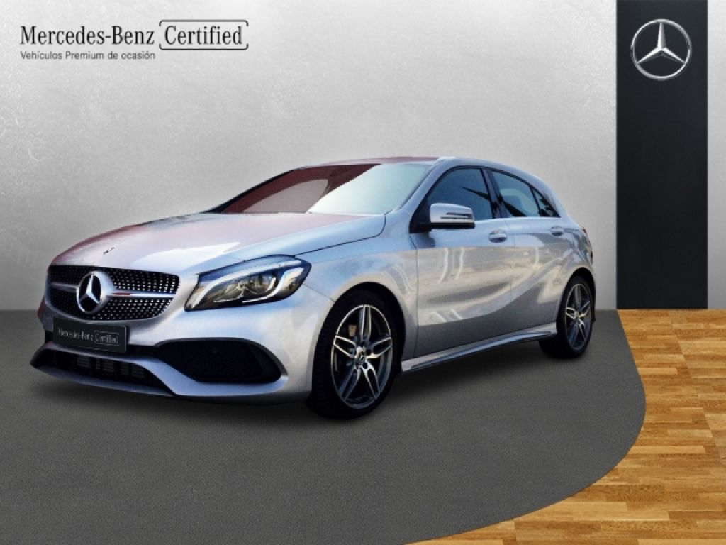 mercedes benz clase a a 200 d amg line 2017 9500 plata. Black Bedroom Furniture Sets. Home Design Ideas