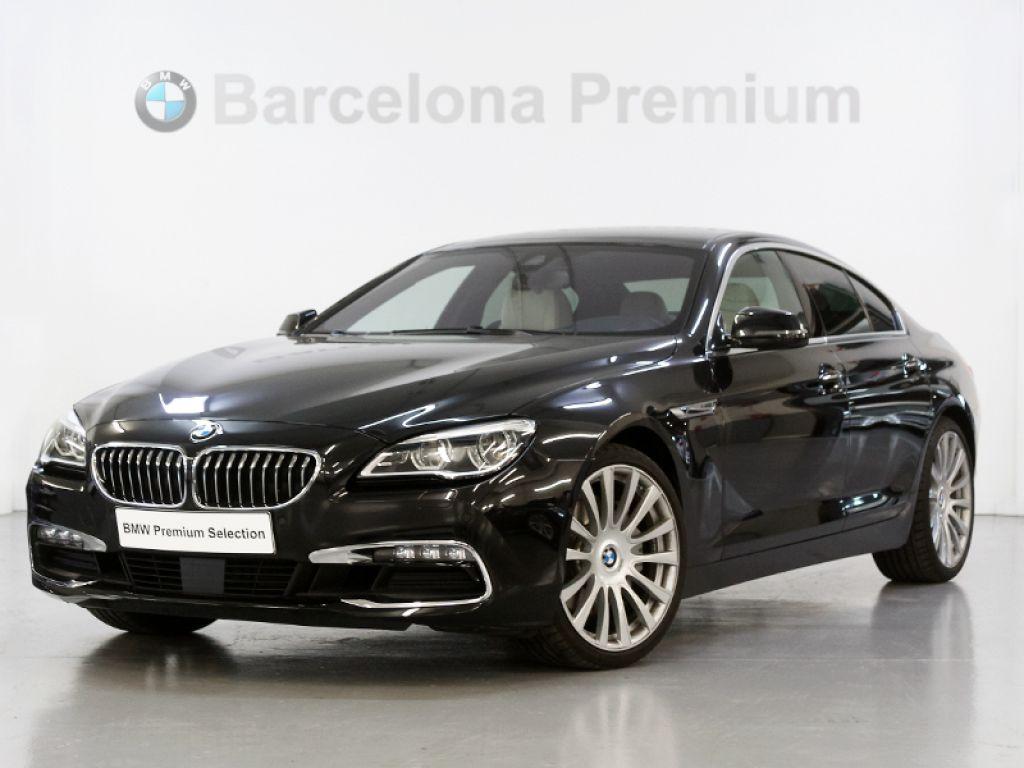 BMW Serie 6 640d Gran Coupe segunda mano Barcelona