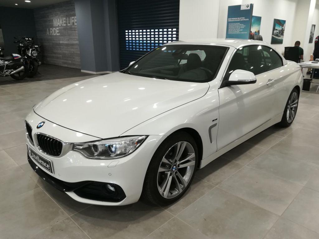 BMW Serie 4 420d segunda mano Barcelona