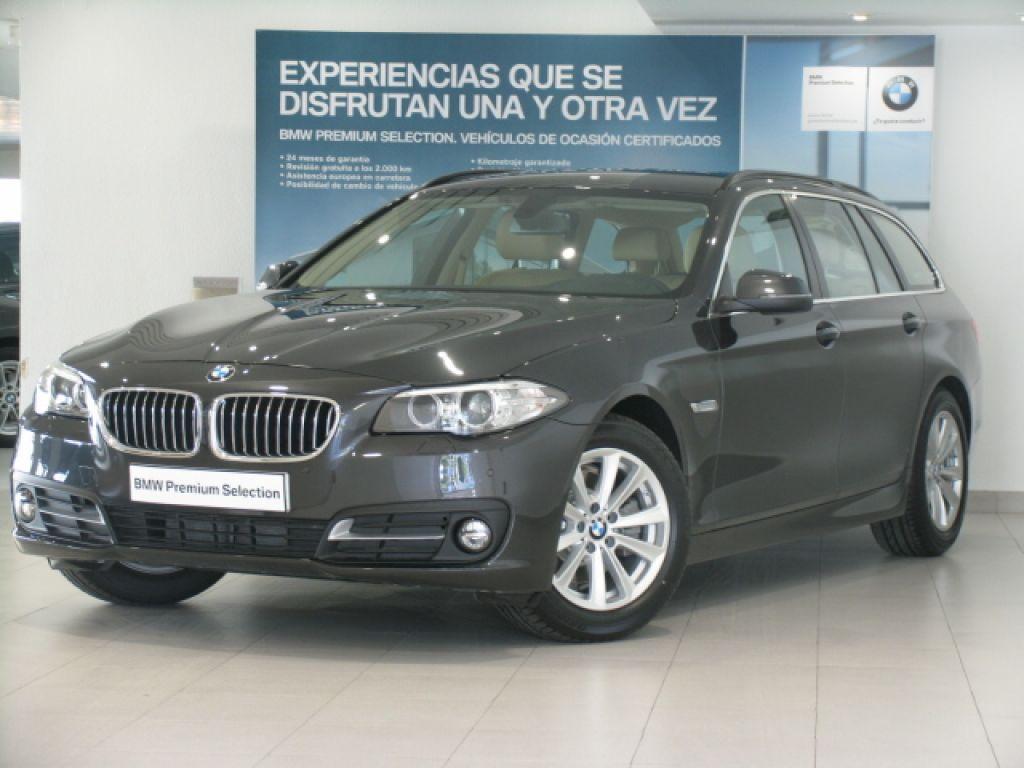 BMW Serie 5 520d Touring segunda mano Madrid