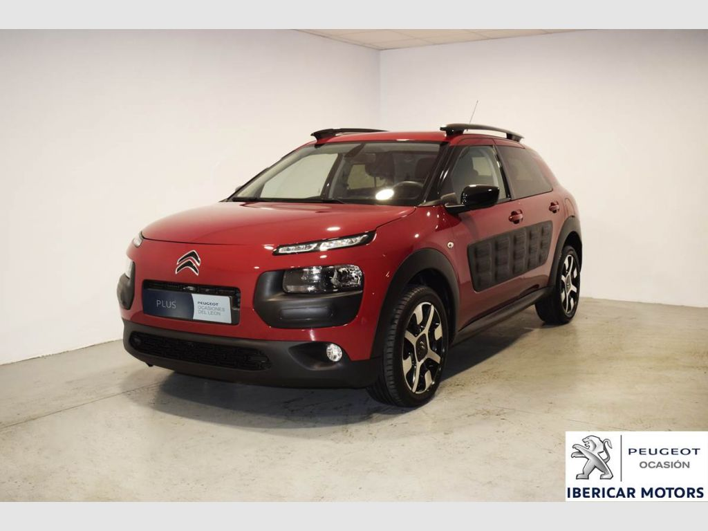 citroen c4 cactus bluehdi 100 feel edition 2016 43300 jelly berry metalizado segunda mano. Black Bedroom Furniture Sets. Home Design Ideas