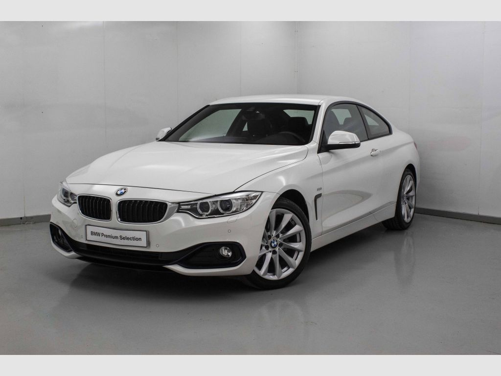BMW Serie 4 418d segunda mano Madrid