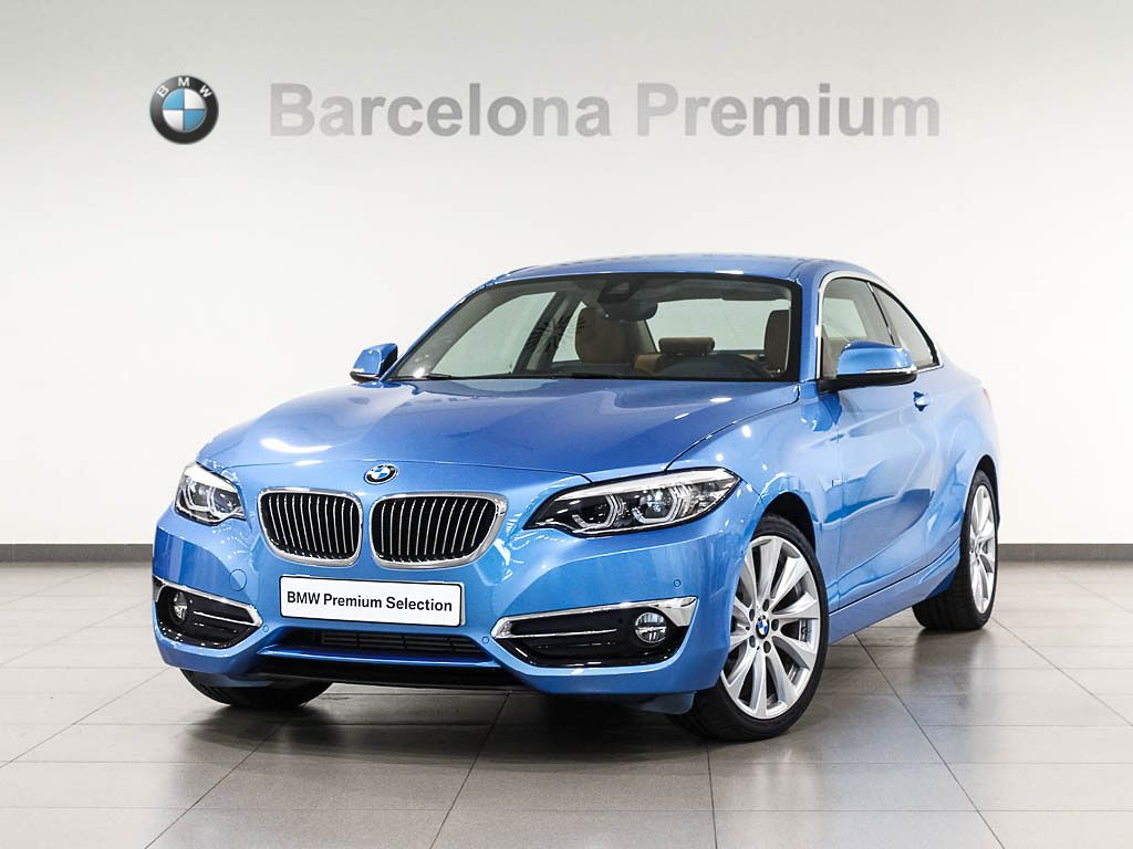 BMW Serie 2 218d segunda mano Barcelona