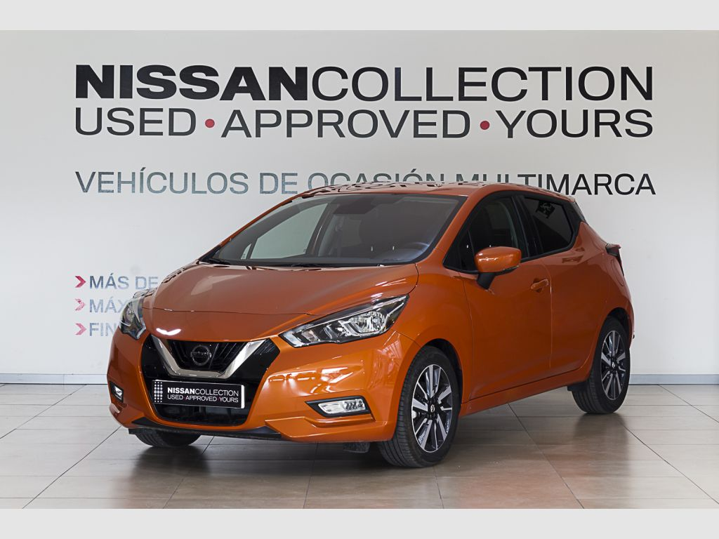 Nissan Micra 1.5dCi 66 kW (90 CV) S&S N-Connecta segunda mano Madrid