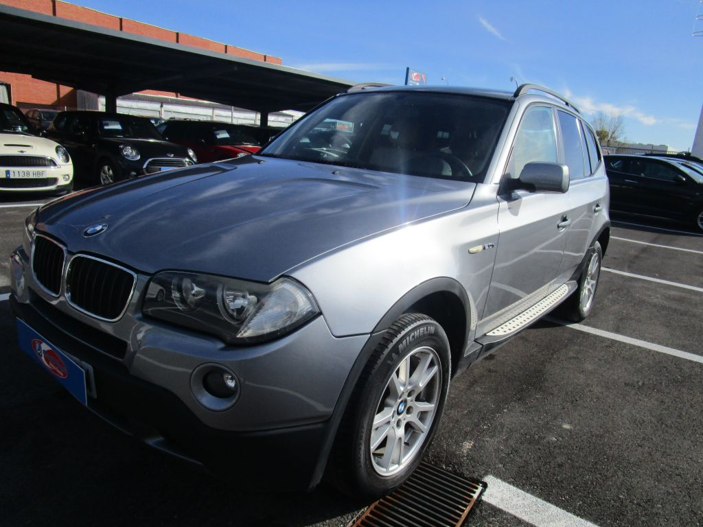 BMW X3 2.0d segunda mano Madrid