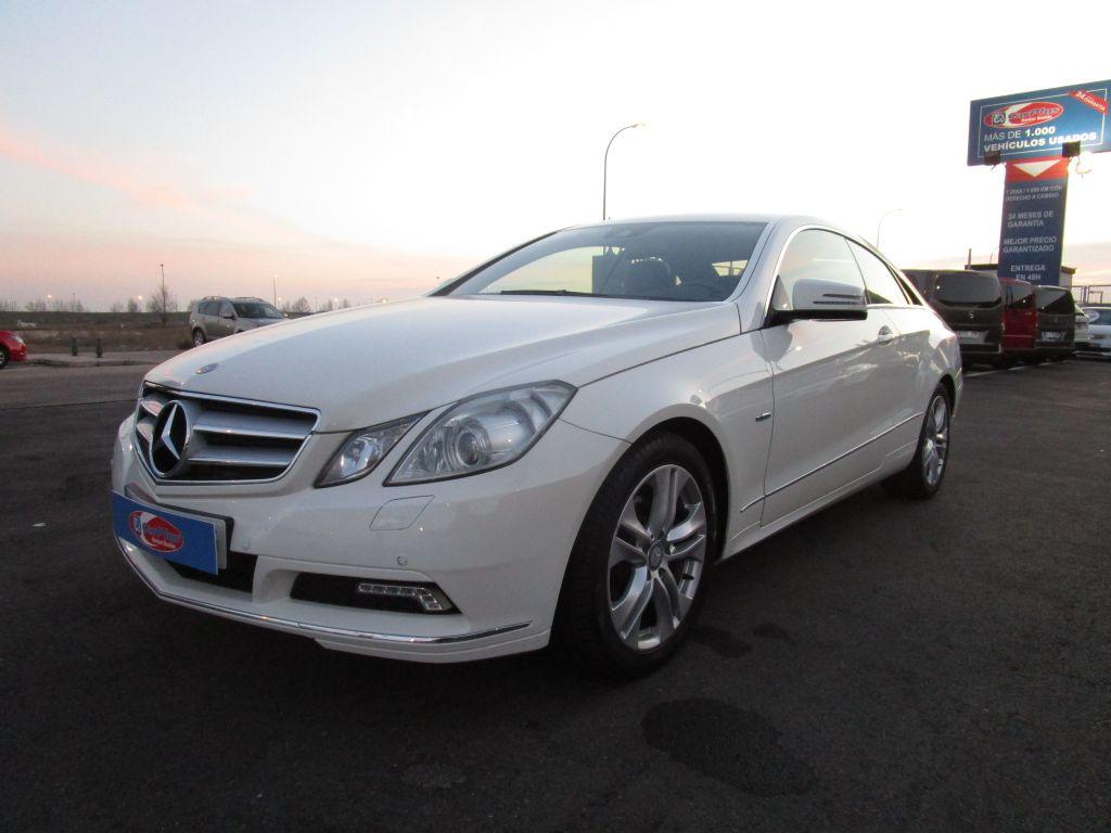 Mercedes Benz Clase E Coupé E 220 CDI Blue Efficiency Elegance segunda mano Madrid