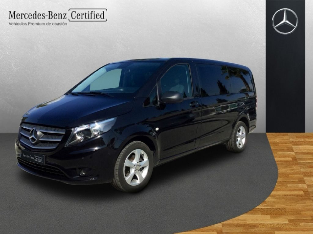 mercedes benz vito 114 bt select larga 2018 10000 negro. Black Bedroom Furniture Sets. Home Design Ideas