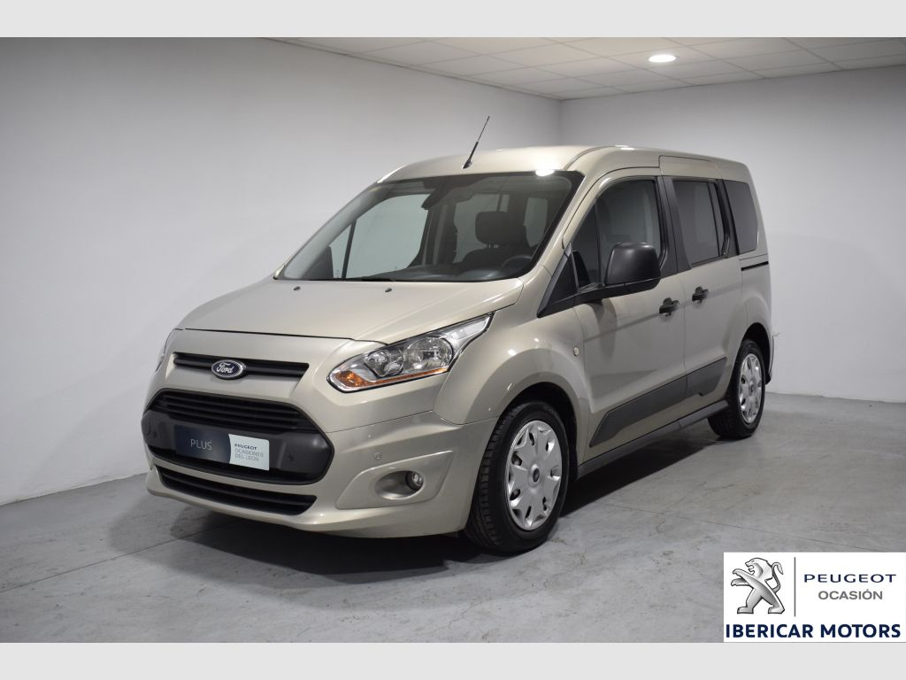 ford transit connect kombi 1 6 tdci 95cv trend 220 l1 2014 104000 beige segunda mano. Black Bedroom Furniture Sets. Home Design Ideas