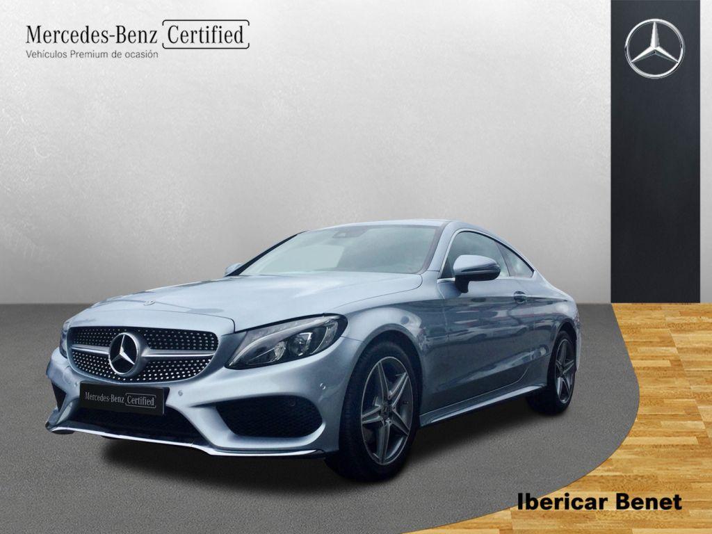 Mercedes Benz Clase C Coupé 220 d AMG Line segunda mano Málaga