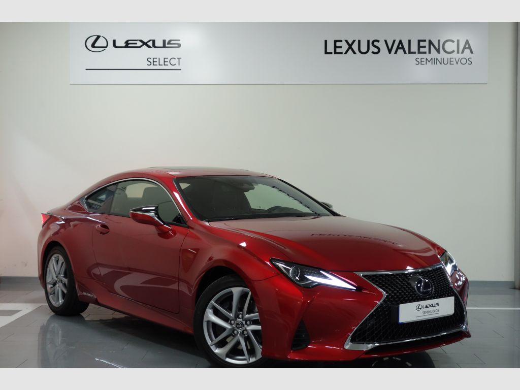Lexus RC 2.5 300h Executive Navigation segunda mano Madrid