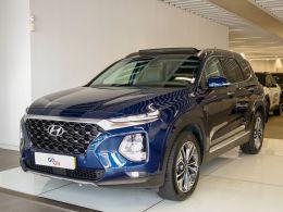 Hyundai Santa Fe  4X2-7 LU2.2 8A/T MY19 PREMIUM segunda mão Lisboa