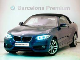 BMW Serie 2 218d cabrio segunda mano Barcelona